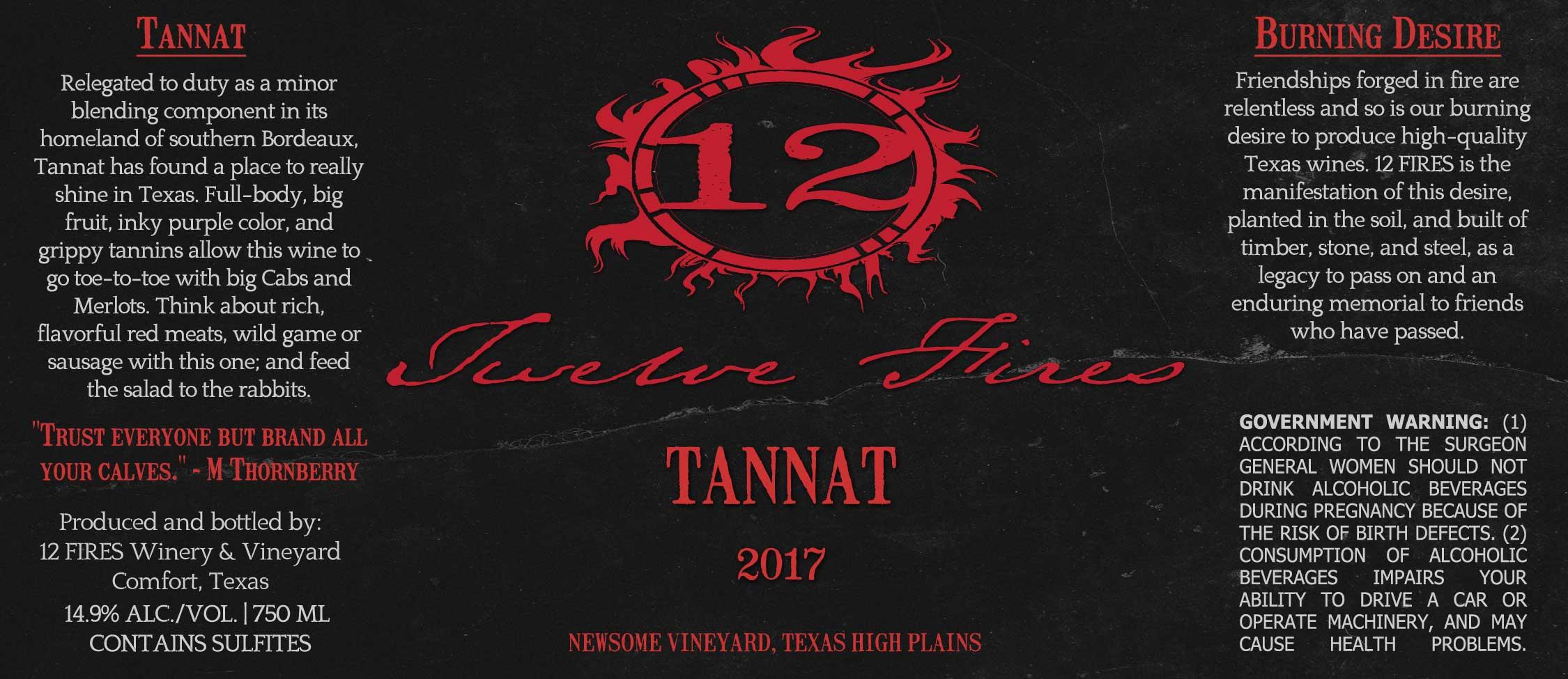2017 Tannat